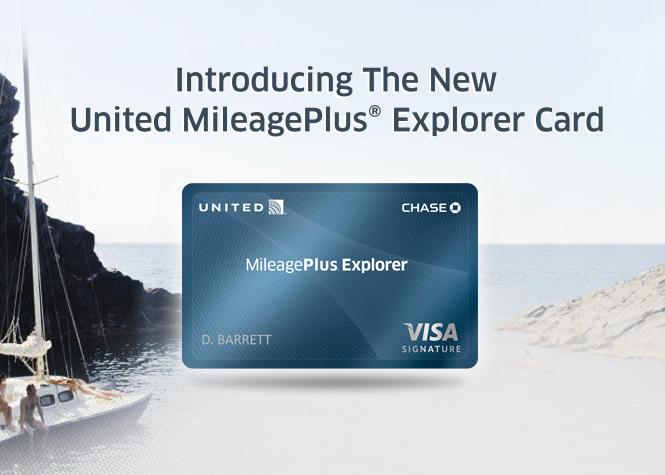 United Plus Mileage Explorer Card