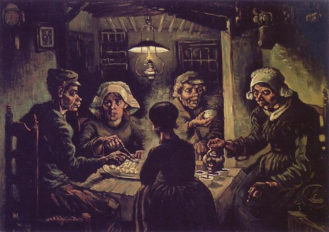 The Potato Eaters