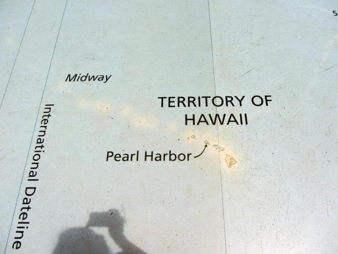 Map of Pearl Harbor