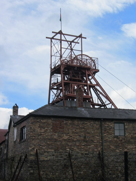 A look at the mine from outside