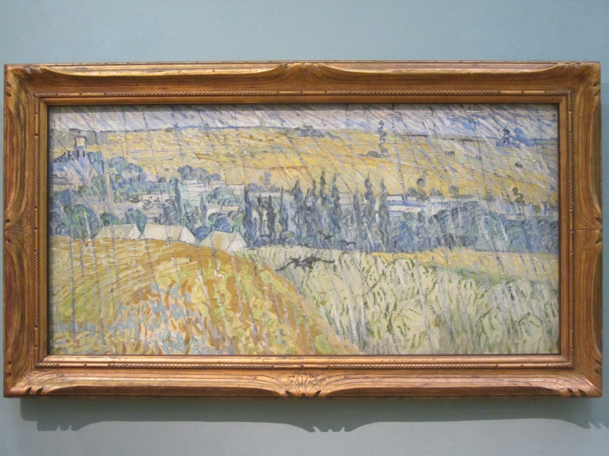 """Part of the Van Gogh """"Wheatfield"""" series - To me, this was the highlight"""
