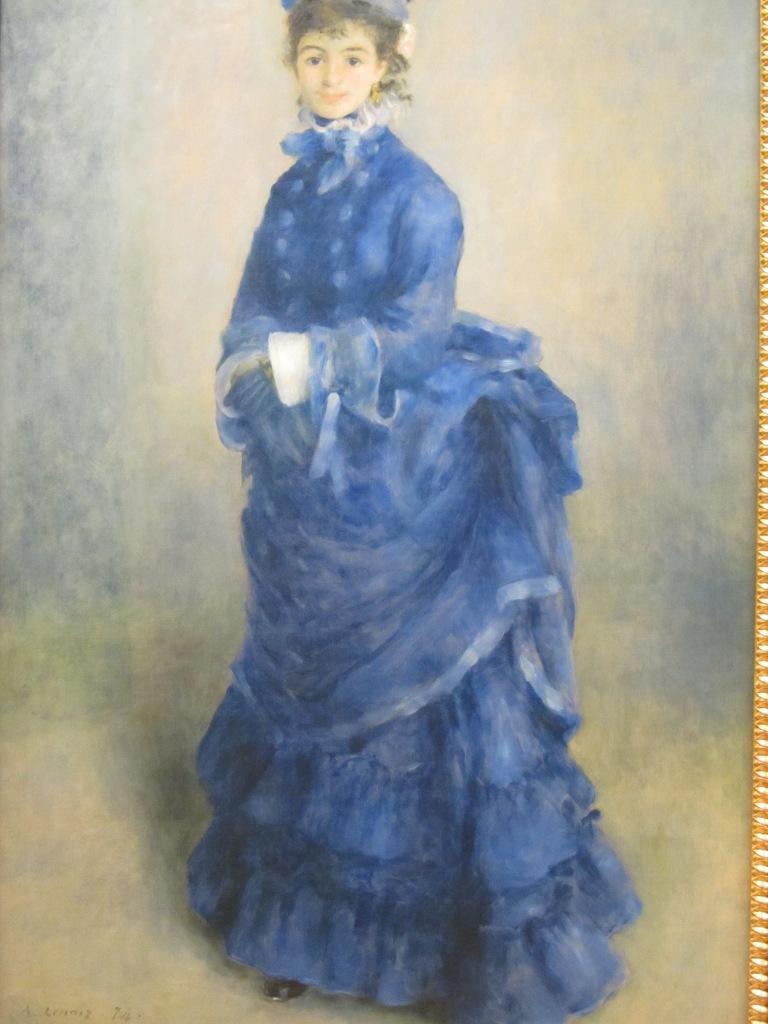 La Parisienne from Pierre Auguste Renoir