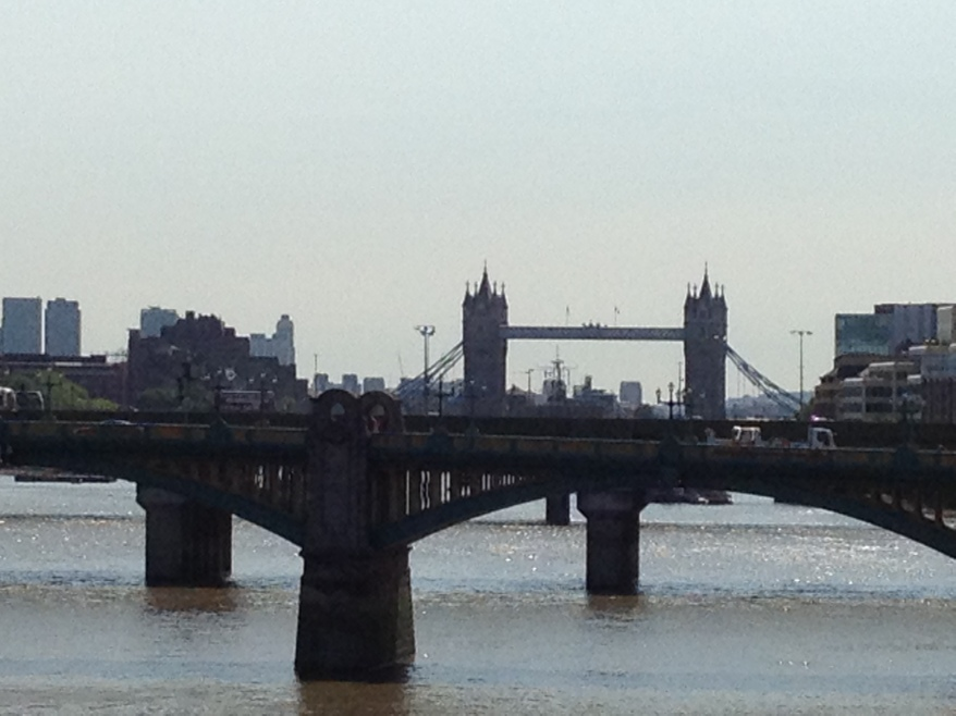 A view from the Millenium  Bridge