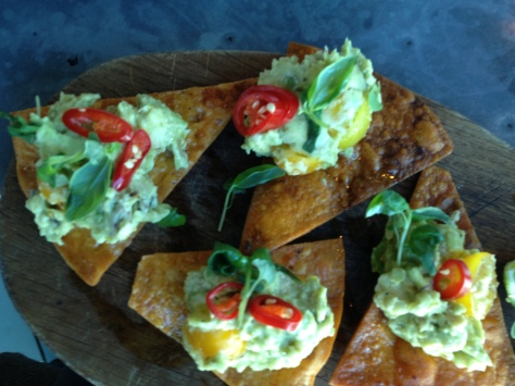 Our yummy chips and guacamole