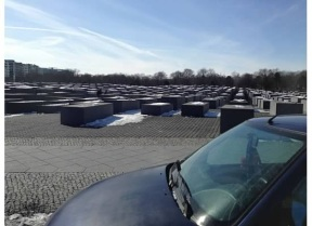 The haunting Holocaust Memorial takes your breath away