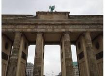 The iconic Brandenburg Gate