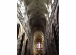 Flying buttresses make this cathedral an architectural marvel