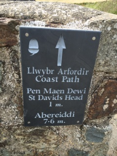 Walking to St. Davids Head