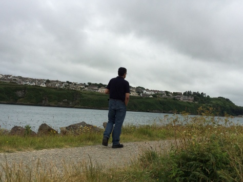 At the port in Fishguard